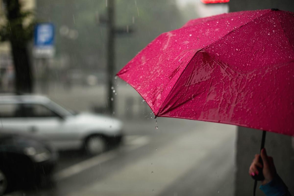今日の雨は冷たいですね。