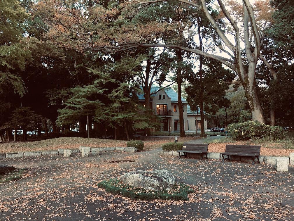 日本とは思えない美しいキャンパス。