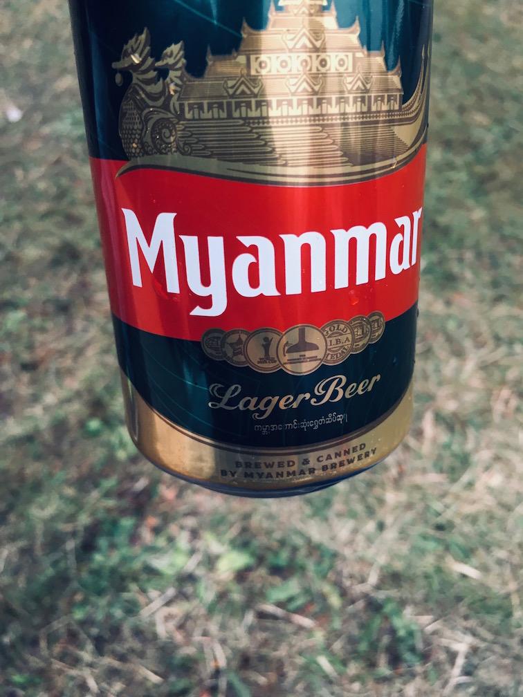 ミャンマー料理にミャンマービール!