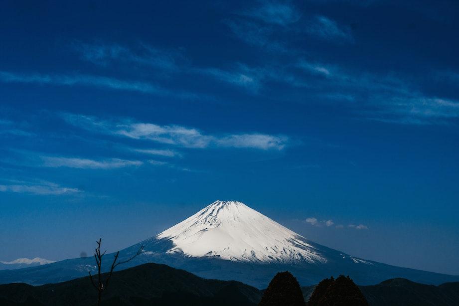 山梨で見る富士山は本当にでかい!