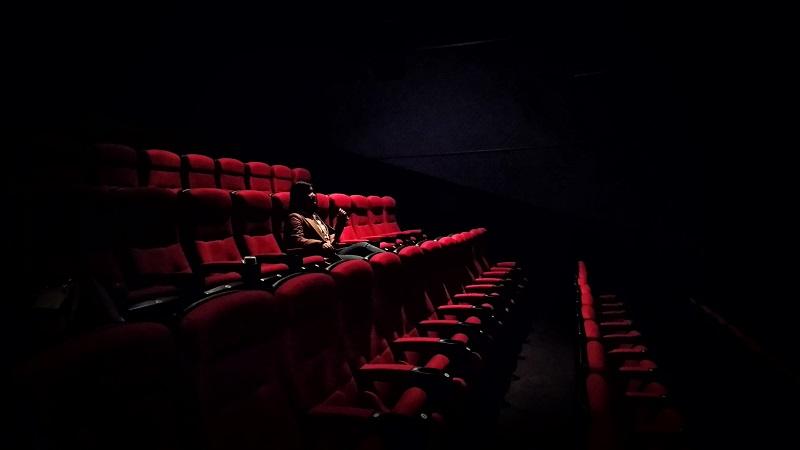 映画館はほぼ貸し切り状態でした。
