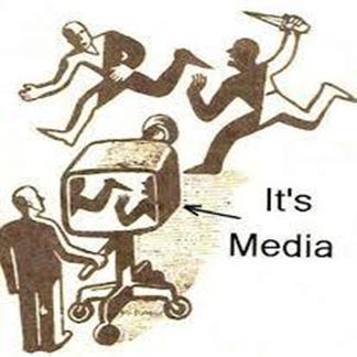 マスメディアの風刺画