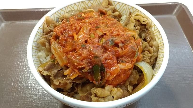 ねぎキムチ丼