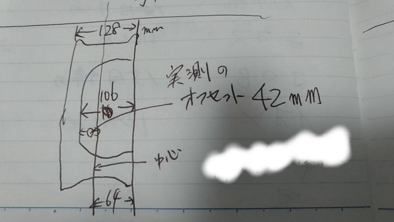 手書きで図を書いて計算