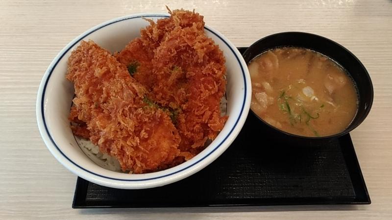 新潟で食べるタレカツ丼