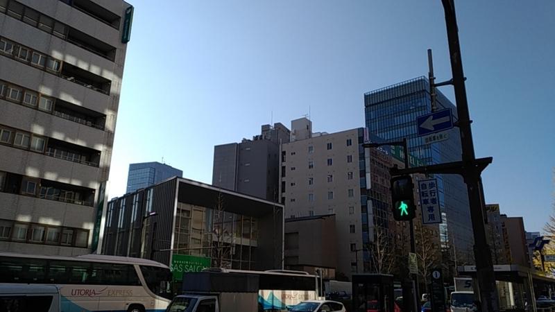 街角の青信号
