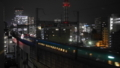 駅へ向かう新幹線7