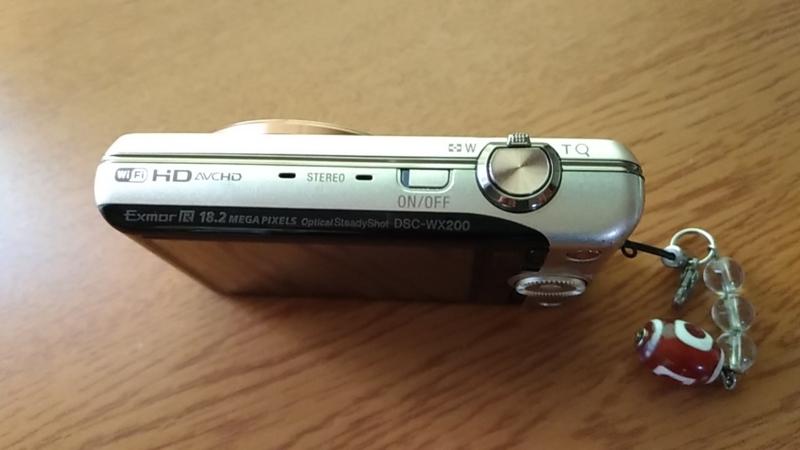 スリムなカメラCyberShot_DSC-WX200