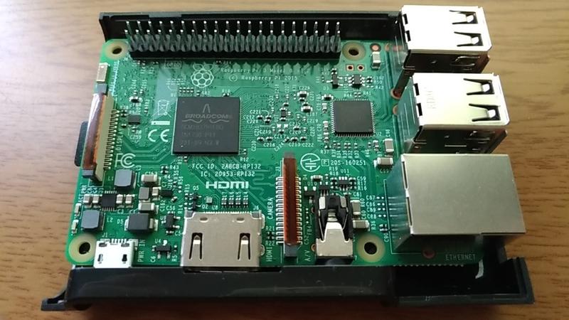 実証できたRaspberryPiミニデータベースサーバー