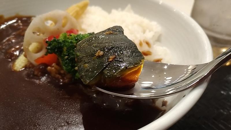 黒カレー温野菜