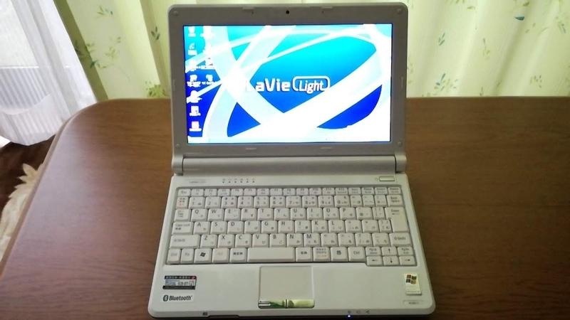 PC-BL300/TA6のデスクトップ画面
