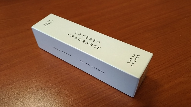 LAYERED_FRAGRANCEの商品箱