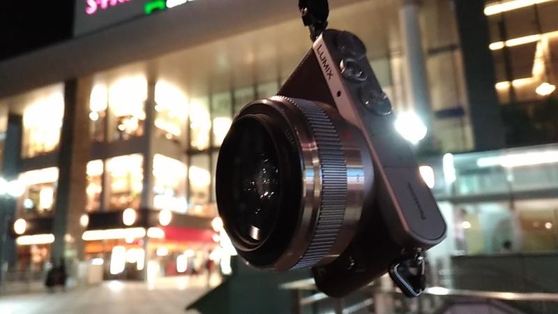駅の風景とDMC-GM1Sカメラ