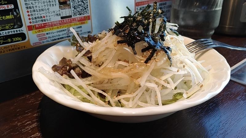 大根のサラダ(いきなりステーキ)