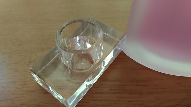 透明のキャップ