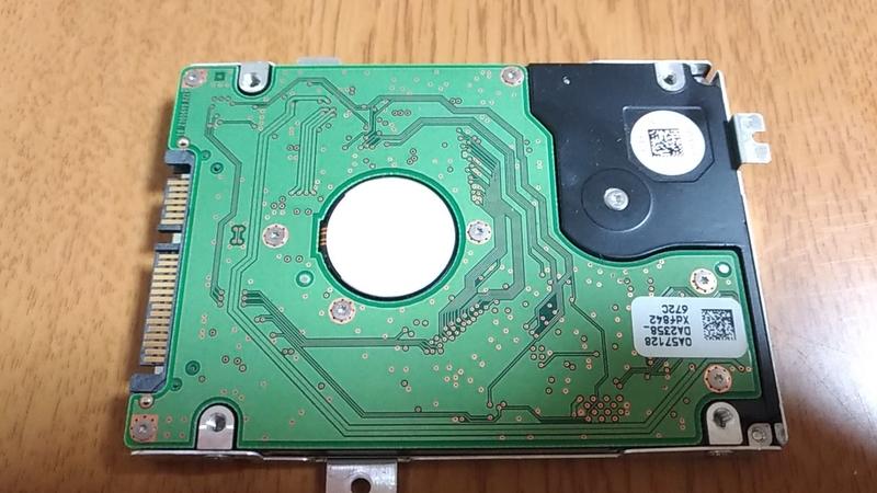 マウンタが付属したHDD