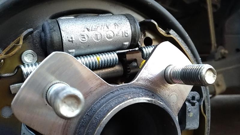ドラムブレーキの構造