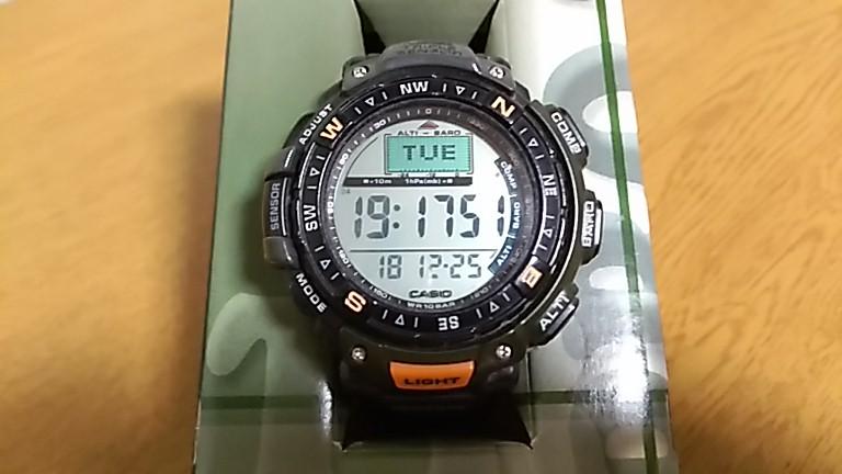 電池交換後のPRG-40