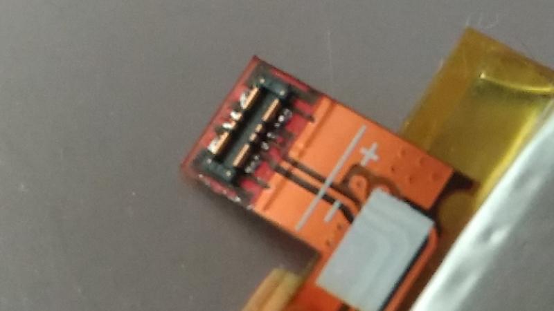 精密なバッテリーコネクタ