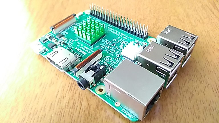 MariaDBをインストールしたRaspberry_Pi3_Model_B