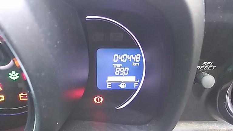 バッテリーが寿命になる走行距離