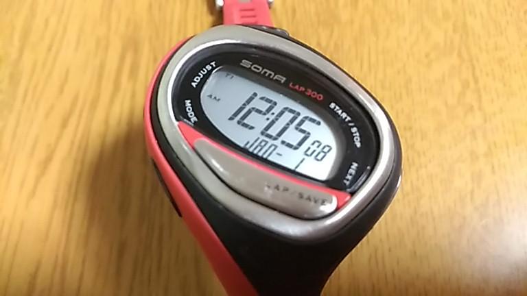 時計表示が復活したWJ02