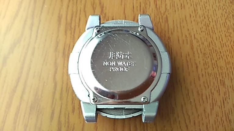 時計の裏蓋