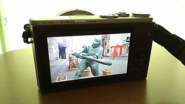 ドカベン銅像の撮影に使用したDMC-GM1S
