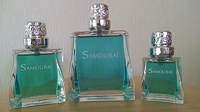 フランス製香水のサムライ
