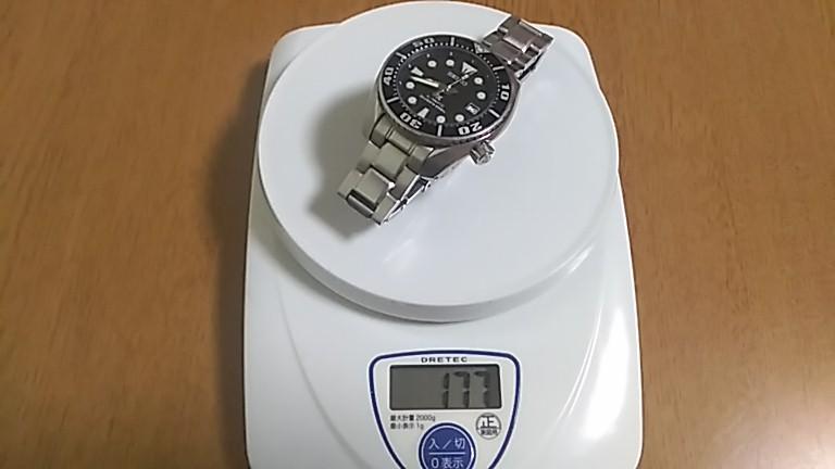 SBDC031の重量を計測