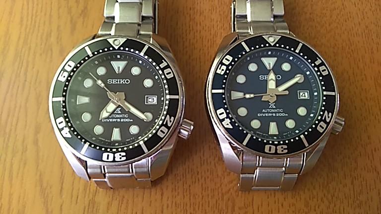 SBDC031と033の色合い比較