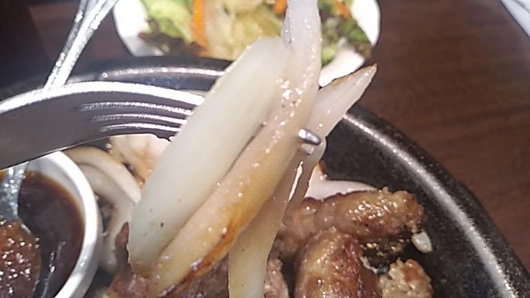 いきなりステーキの玉ねぎ