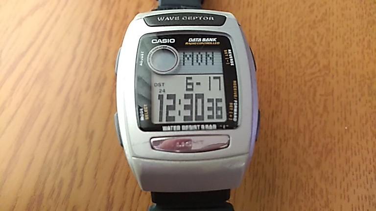時間を表示したFKT-300