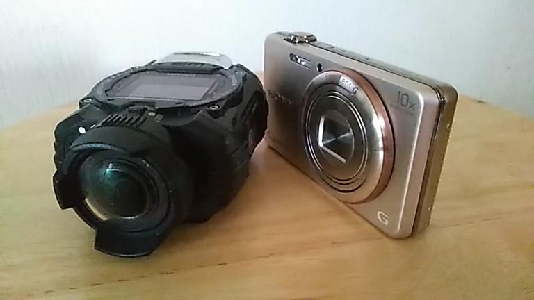 WG-M1とDSC-WX200