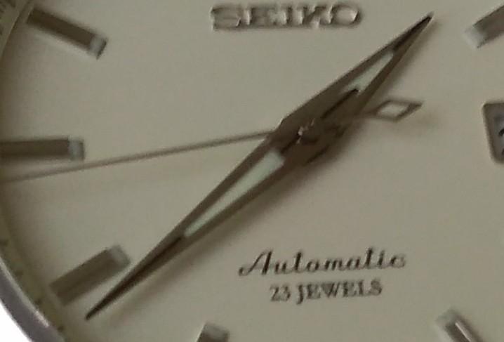 SARB035の時分針