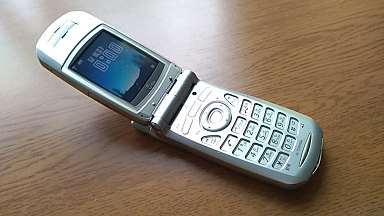 auの携帯A5301T