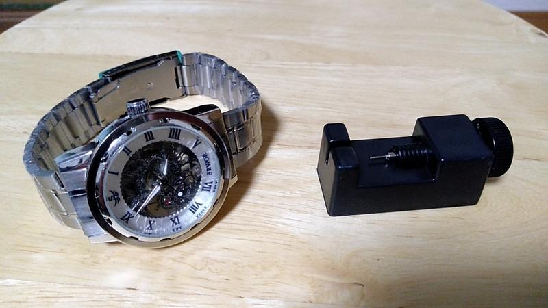 格安手巻き時計本体