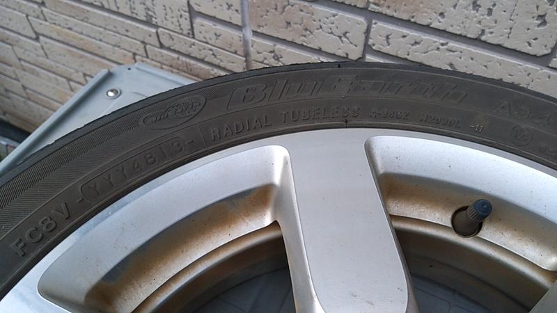 155-65R14のN-ONE純正タイヤ