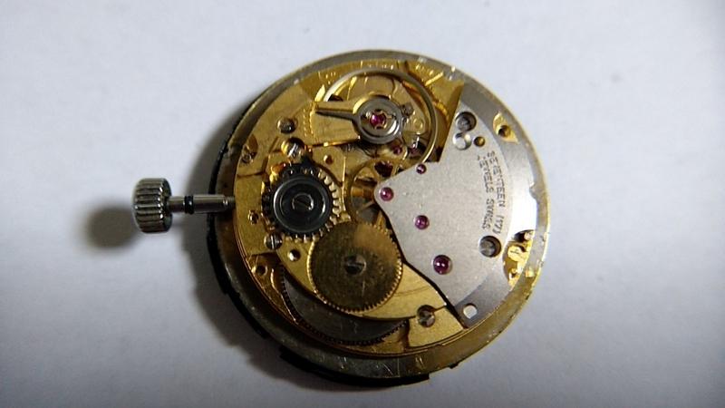 ETA2801-2化ムーブメント表