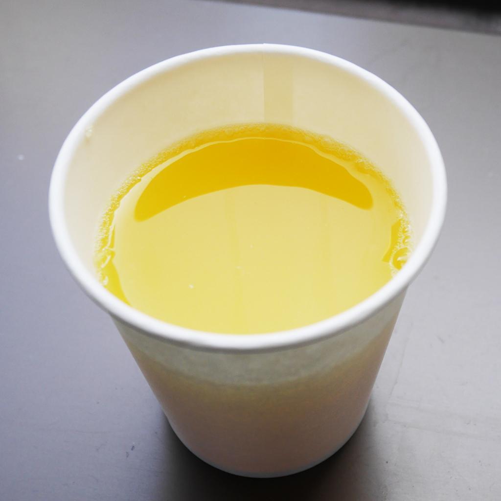 オランジーナ 贅沢ビターオレンジを出したところ