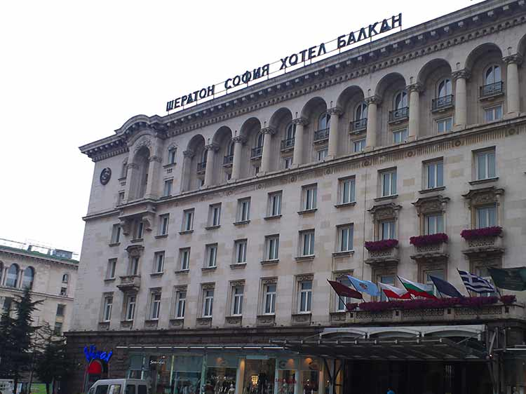 ソフィアホテルバルカン