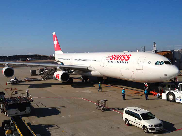SWISS A340-300