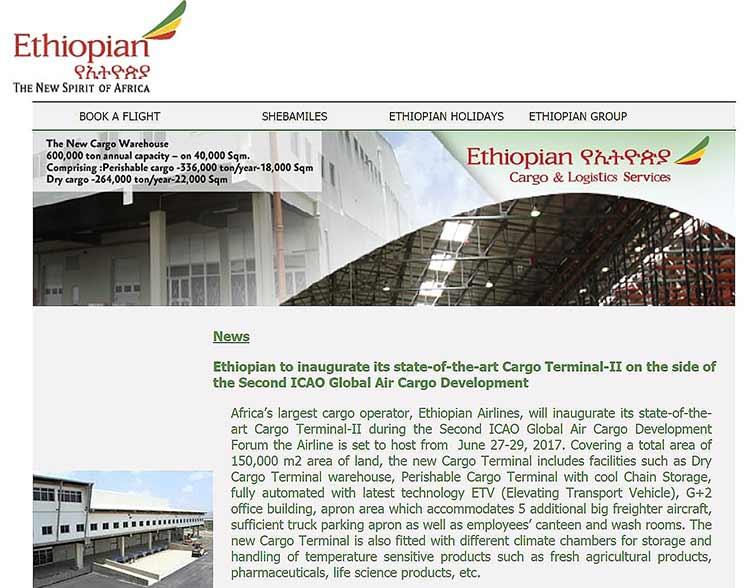 エチオピア航空メルマガ