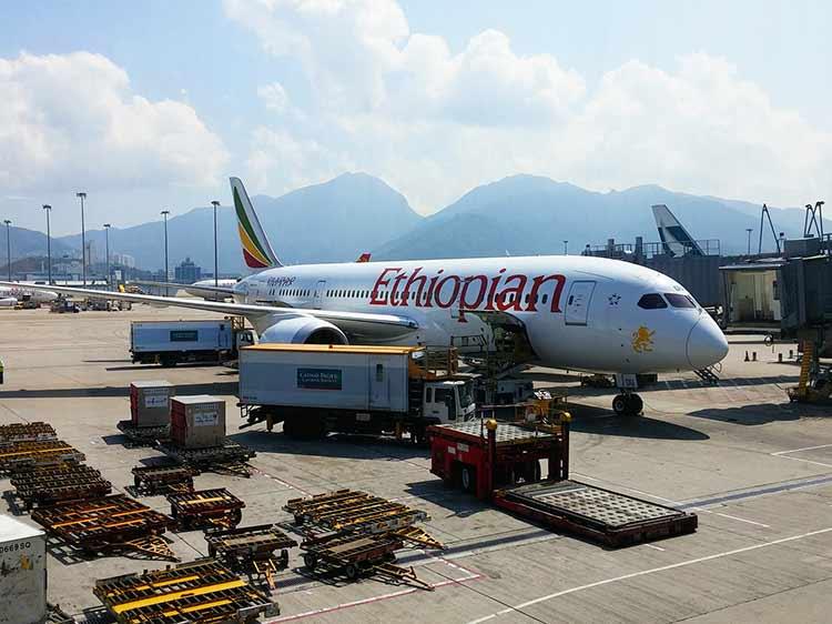 エチオピア航空 B787-8