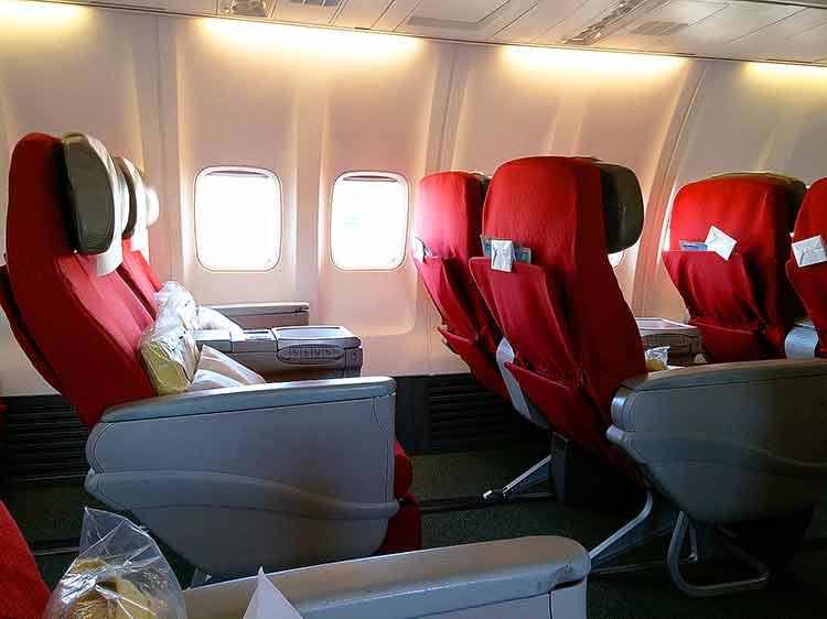 エチオピア航空 ビジネスクラスシート