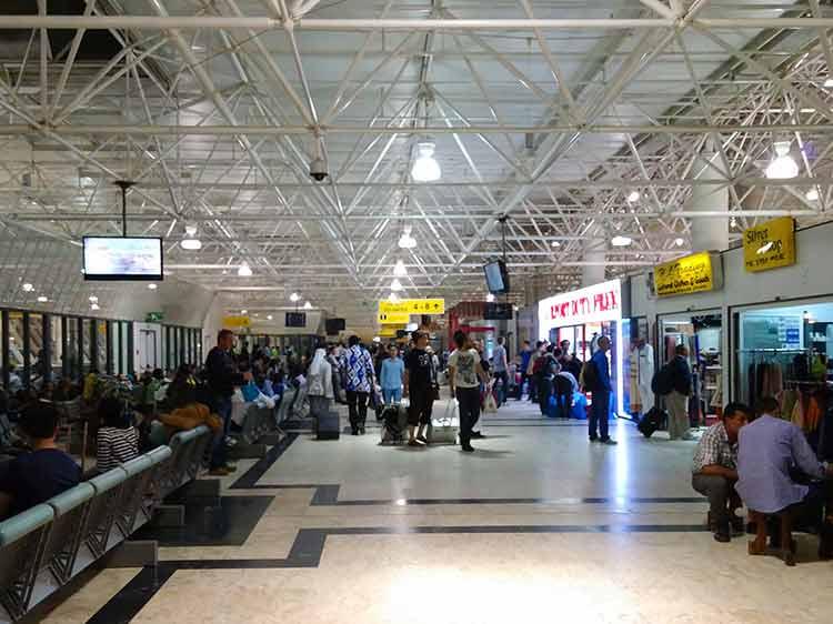 アディスアベバ空港内