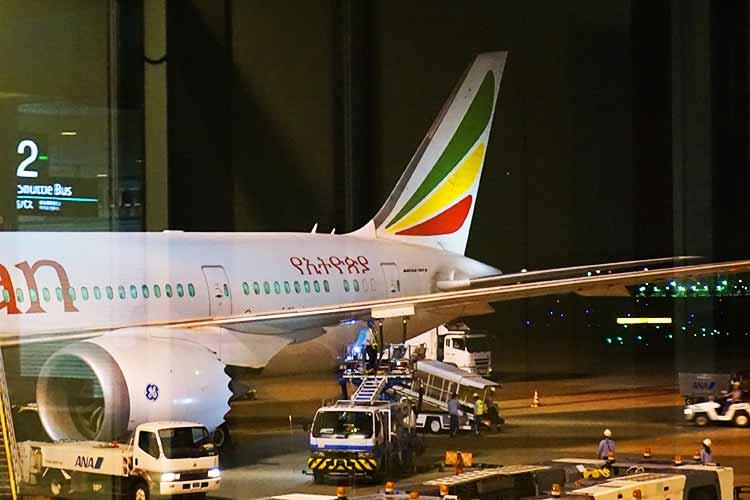 エチオピア航空B787-8