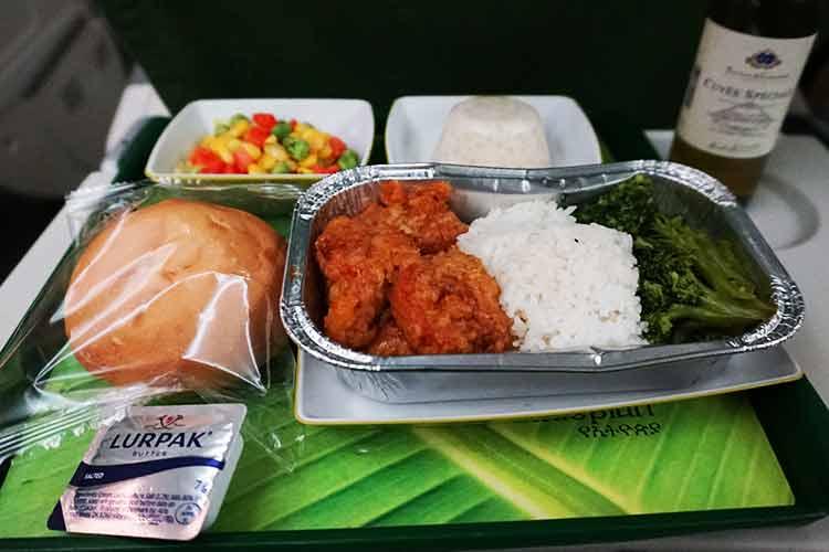 エチオピア航空 機内食