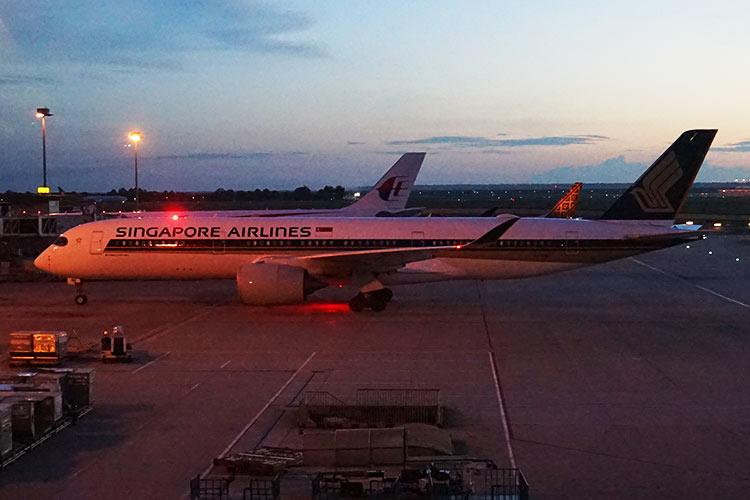シンガポール航空 A350-900
