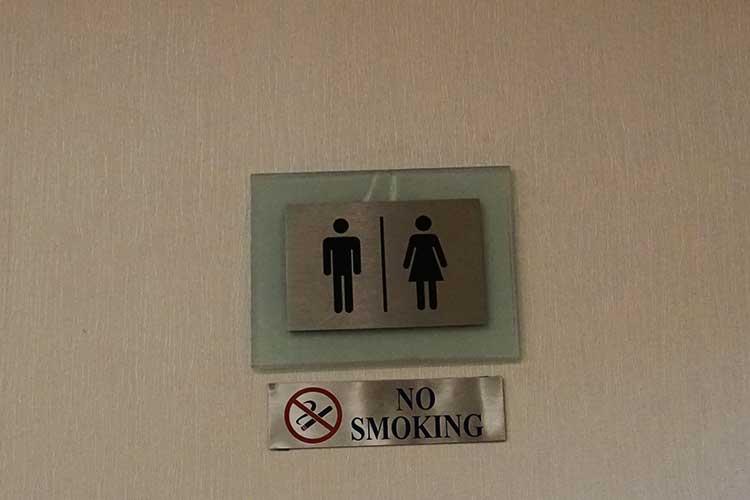 シルバークリスラウンジ トイレ